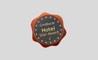 Certified Hotel Star Award